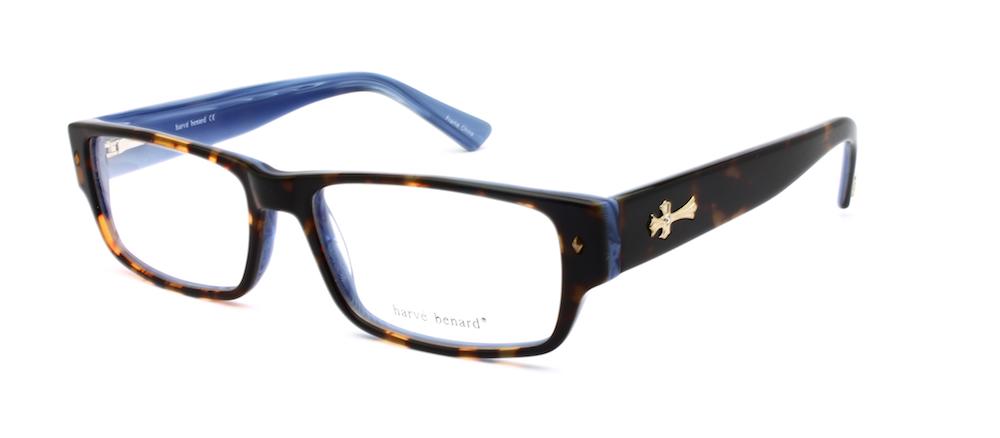 c4cd1fa8f74 Men s Eyeglasses Harve Benard HB 598 Blue -  59.00