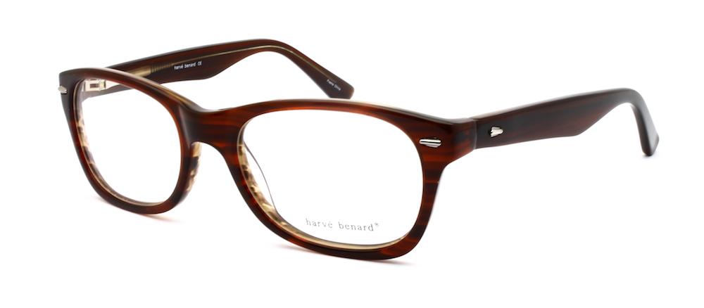 99362d27a6e Men s Eyeglasses Harve Benard HB 602 Dark Brown -  49.00